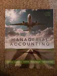 Managerial Accounting 4th ed