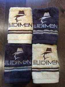 SLICKMEN FACE TOWELS BROWN AND BEIGE