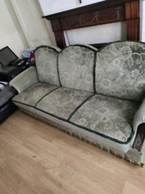 Sofa green colour