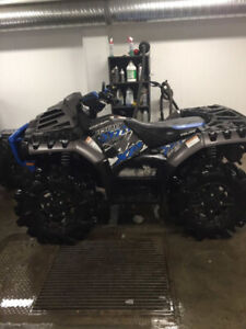 2018 Polaris 1000 cc highlifterquad with 480 km must sell