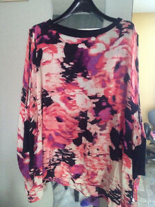 NWT Juicy Couture Size M Open Shoulder Woven Pebble Rose Top
