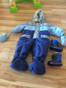 Baby Bell - Snow Suit - 12 month