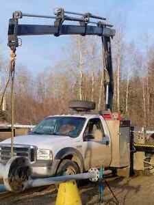 2007 Ford F-550 c/w Hiab 077 picker