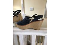 Marks and Spencer wedge sandals size 4