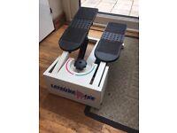 Step machine exercise