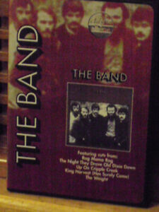 the band documentry with surviving members dvd mint cond