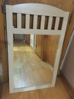 "Wooden Mirror 47""X28"" [BRAND NEW]"