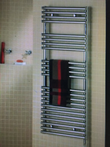 CHAUFFE SERVIETTE ELECTRIQUE WALL MOUNTED ELECTRIC TOWEL WARMER