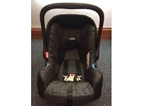 Britax car seat with Isofix base