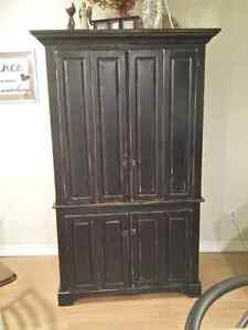 Large Solid Pine hutch