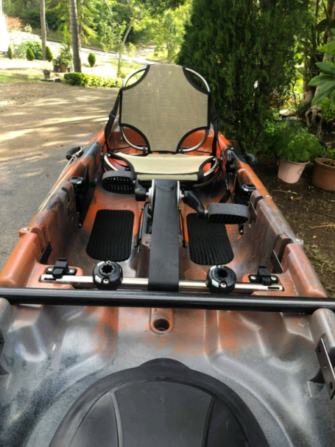 Mariner 12 5 prop drive kayak WITH ACCESSORIES | Kayaks & Paddle