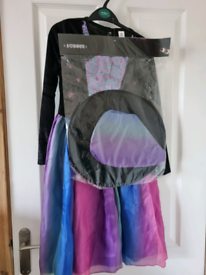 Brand new with tag Girls Halloween costume age 9-10 Rainbow wizardress