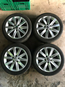 "17"" VW Porto Rims/Wheels and Tires"