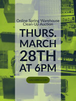 THU MAR 28 LONDON ONLINE AUCTION - WAREHOUSE SPRING CLEAN UP