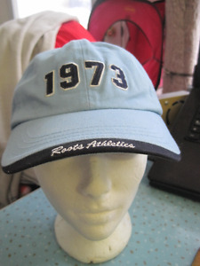 Unisex Roots Powder Blue Vintage Logo Style Baseball Hat