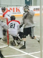 Ball Hockey Goalie Available for pick up or league