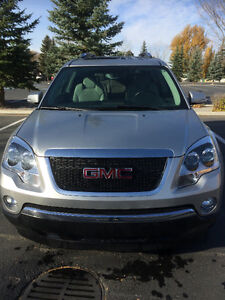 2007 GMC Acadia SLT2 with Entertainment Package $14000 or trade
