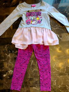 Size 5 shopkins outfit