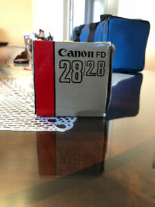 Canon 28mm F2.8 FD Lens from Japan