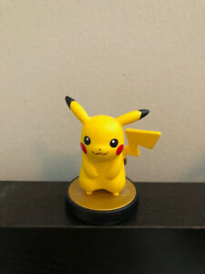 Nintendo Amiibo: Pikachu – Super Smash Bros (opened box)