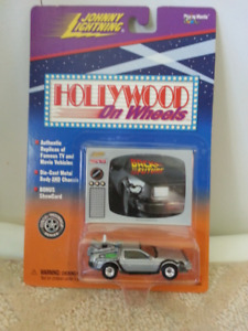 JOHNNY  LIGHTNING  BACK  TO  THE  FUTURE  CAR