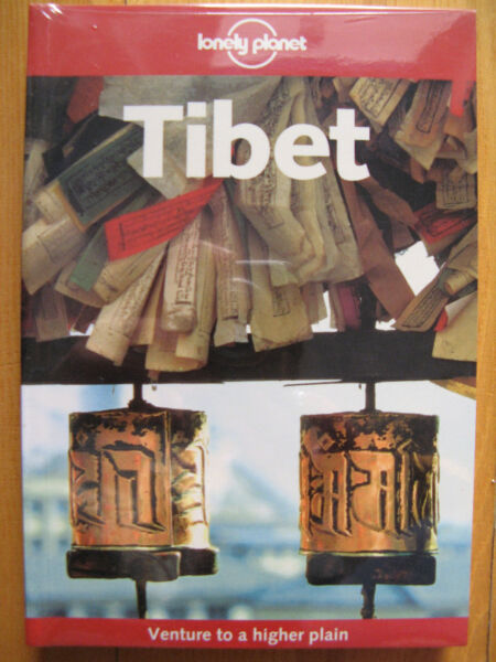 Tibet - Lonely Planet - po angielsku