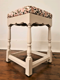 Antique Shabby Chic Stool / chair