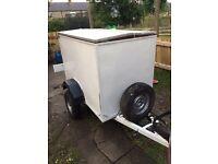 Small box trailer