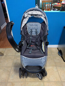 Graco high chair, bumbo, booster seat and Graco stroller