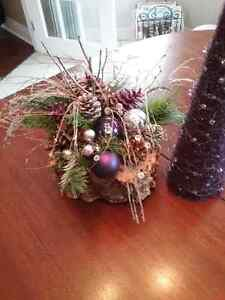 Decorative Christmas theme arrangement