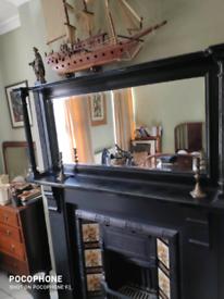 Victorian Mantelpiece mirror