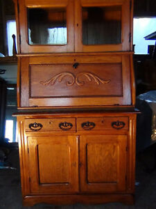 Oak Antique Writing Desk