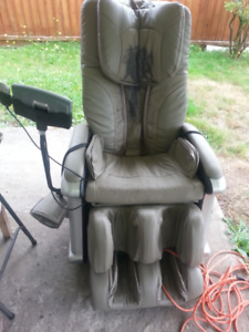 Well used massage chair