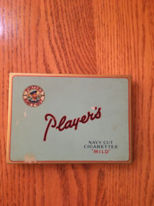 Player's Tin Cigarette Case