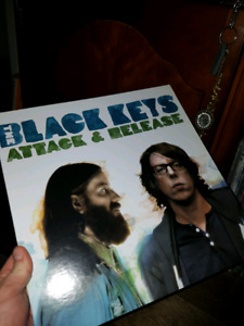Black Keys - attack and release vinyl record
