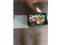 Just over 5 kilo of all genuine Lego large Lego base plate