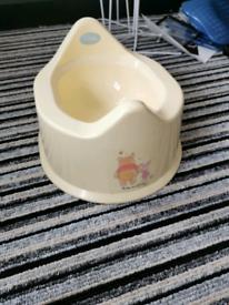 Disney Keepsake Pooh Bear Potty
