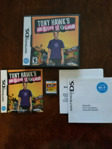 Tony Hawk's American Sk8land for DS (complete)
