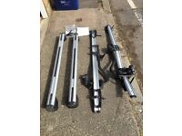Audi Roof bars and 2x bike rack