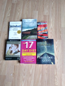 6 chapter books