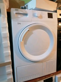➡️➡️SALE⬅️⬅️GRADED WHITE 8KG BEKO CONDENSER TUMBLE DRYER ONLY £160