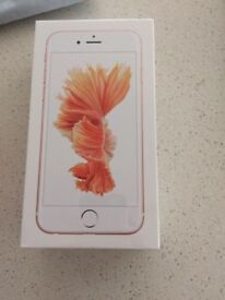 APPLE IPHONE 6S 32GB ROSE GOLD BRAND NEW E.E VIRGIN