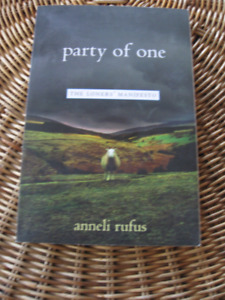 PARTY OF ONE, the loner's manifesto book – INTROVERTS you others