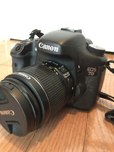 Canon 7D and 18-55mm lens