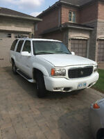 1999 Cadillac Escalade SUV. MUST GO. BRAND NEW TIRES