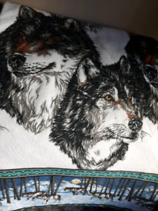 Wolf Blanket For Sale