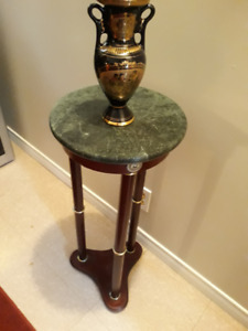 MARBLE TOP TABLE STAND