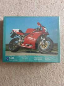 Jigsaw puzzle 500 pieces of Ducati 996 sps