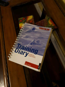Triathlon Diary, Swimming & Training books