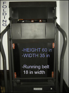 Weslo Cadence 215s folding Treadmill with weight rack Kitchener / Waterloo Kitchener Area image 2
